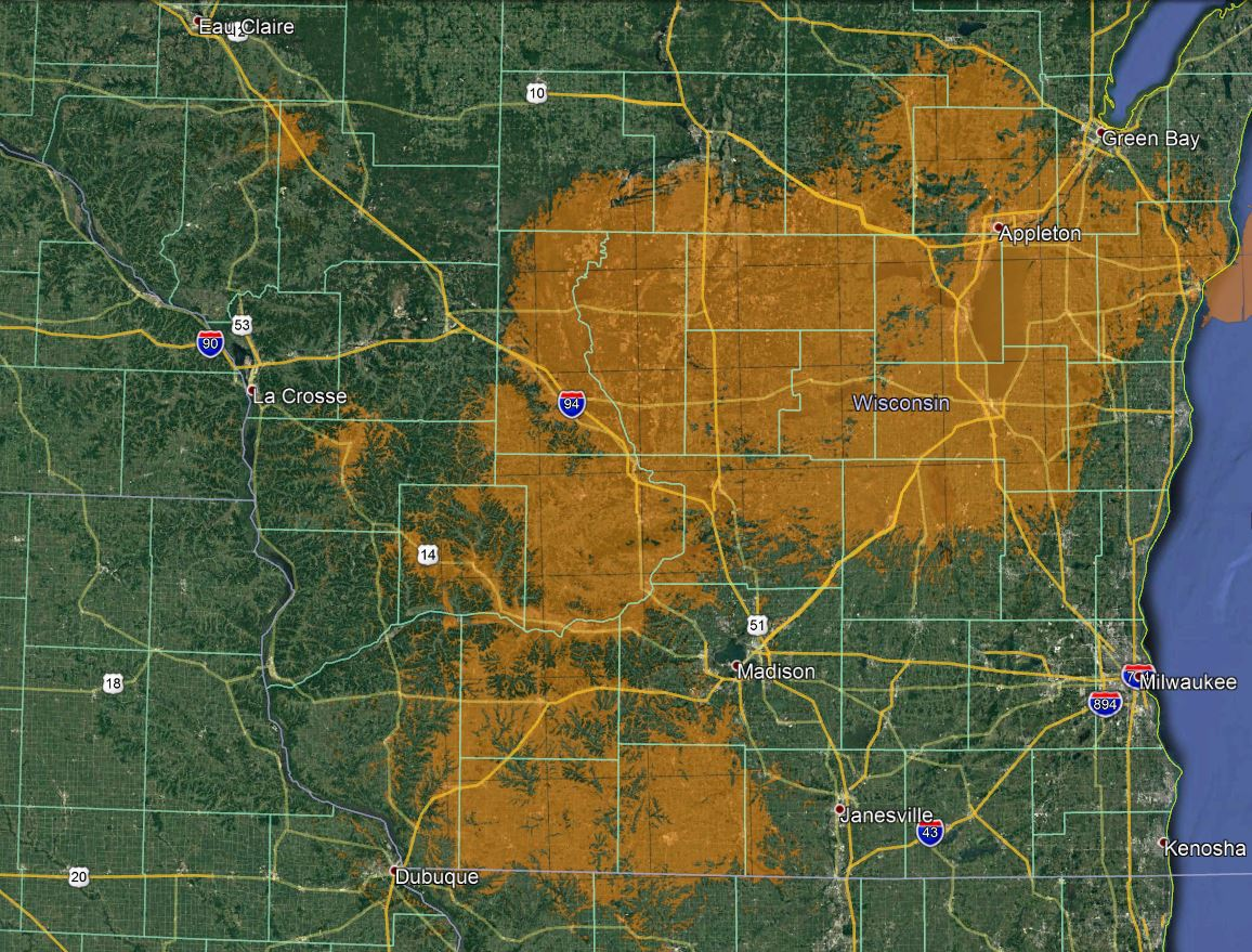 Bug Tussel | High Sd Internet in Rural Wisconsin | Coverage on